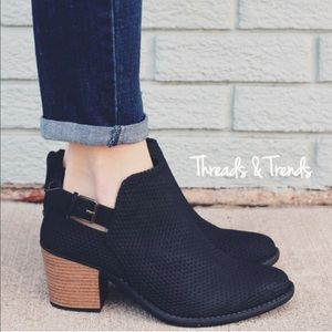 Threads & Trends Shoes - 🌸The Reinvented Perorated Bootie