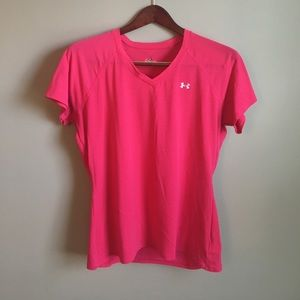Under Armour Tops - Under Armour Pink Tee
