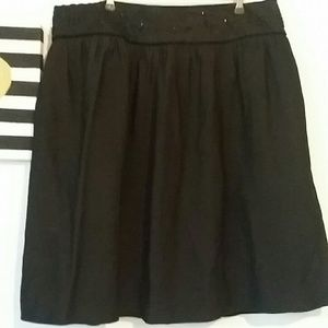 attention Dresses & Skirts - ATTENTION size 12 black dressy puffy beaded skirt