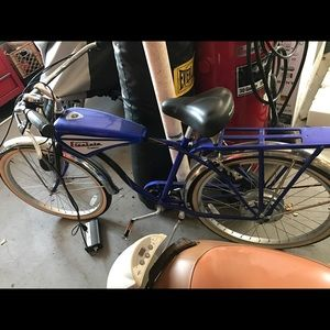Classic Sharper image electric powered bike. for sale