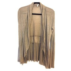 Like New Willow & Clay Open Front/Draped Cardigan