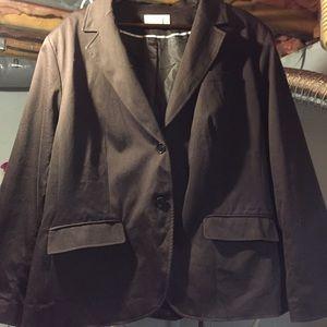 Worthington Jackets & Blazers - EUC Chocolate brown blazer. Washable.