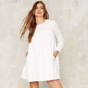 Nasty Gal A-Line Shirt Dress