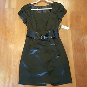 AGB Dresses & Skirts - NWT Black Stretch Sateen Dress