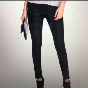 sneak peek Denim - sneak peek faux leather leggings ... NWT
