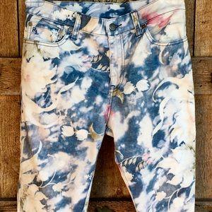Polo Ralph Lauren Tompkins Skinny Splatter Jeans