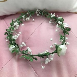 Claire's Accessories - 3-pk Floral Hair Crowns