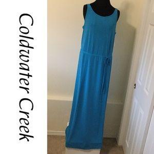 Coldwater Creek Dresses & Skirts - VERY LONG Drawstring Maxi Dress