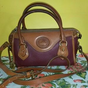 Dooney & Bourke Handbags - DOONEY BOURKE*SALE*VTG*Mini*satchel'ROUGE'