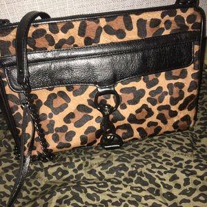 Rebecca Minkoff large saddle clip bag.