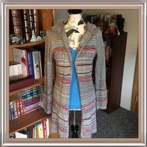 Jolt Sweaters - Jolt-Striped Cardigan/Tank Bundle