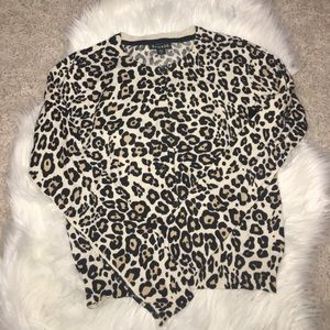 Other - ⚡️✨🌟Sale Girls leopard sweater size 10-12