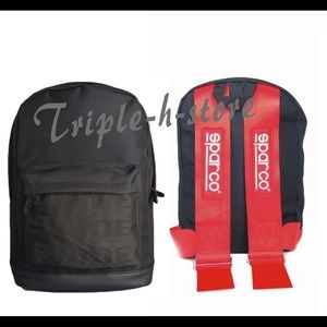 Other - JDM Racing Bride Backpack Red Sparco Bags