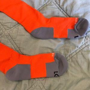Adidas Underwear & Socks - Adidas soccer socks orange new size L