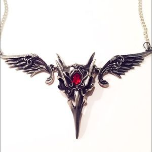 Alchemy Jewelry - Masque of the Black Rose Necklace