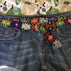 Accessories - Beaded belt