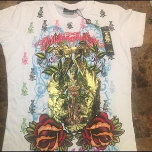 Christian Audigier Tops - Authentic Christian Audigier T-shirt