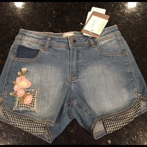 Mayoral Other - Little girl size 9 denim shorts! NEW with tags
