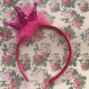Other - Tiara Toddler Headband