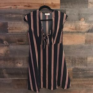 ModCloth Dresses & Skirts - Fit and Flare striped dress