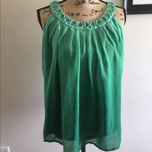 Bob Mackie Tops - NWT Gorgeous green ombré sleeveless blouse