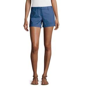 Theory Pants - Theory Alem Marina Blue Stretch Shorts, size 0 NWT