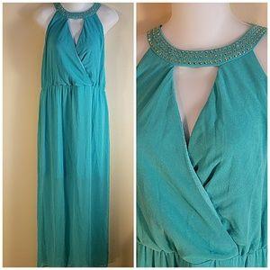 Thalia sodi Dresses & Skirts - Thalia Sodi Women's Embellished Halter Maxi Dress