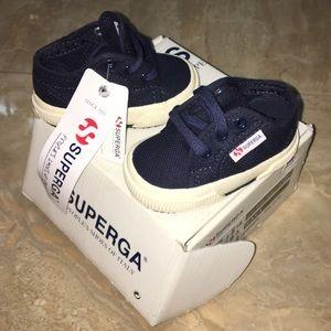 Superga Other - Superga baby shoes size 3, navy