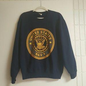 Soffe Other - Navy Logo Sweatshirt Size M
