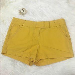 J.Crew Factory Pants - J.Crew Yellow Chino Shorts Classic Twill City Fit