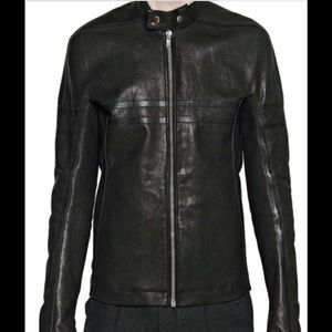 Rick Owens Other - Rick Owens Calf Leather Jacket:42