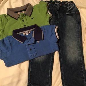 Armani Junior Other - BOYS POLO and Jeans Armani sz 18months