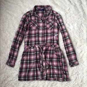 Tops - Flannel Tunic