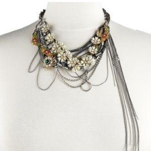 JUICY COUTURE Floral Torsade CHAIN NECKLACE