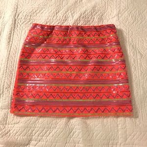 Dresses & Skirts - Cute Sequence Mini Skirt