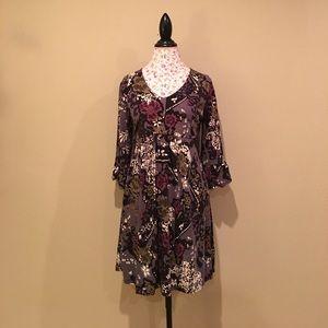 Cotton Print Dress - XLarge