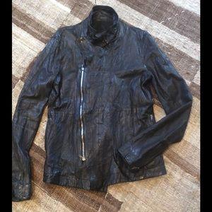 Julius Other - Julius Lambskin Leather Jacket