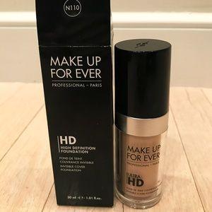 Makeup Forever Other - MAKE UP FOR EVER • HD FOUNDATION N110