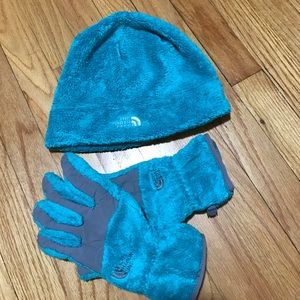The North Face Accessories - The north face hat and gloves set