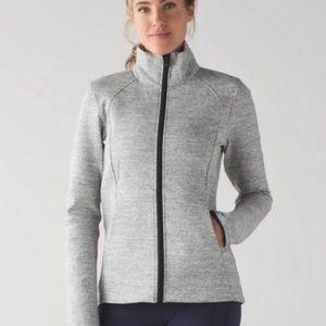 Lululemon size 2 grey Insculpt Jacket