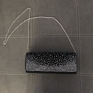 Brand new black evening purse