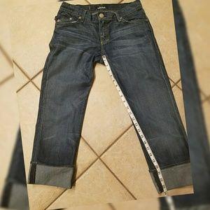 Rock & Republic Denim - Rock & Republic Jeans cuffed Size 28