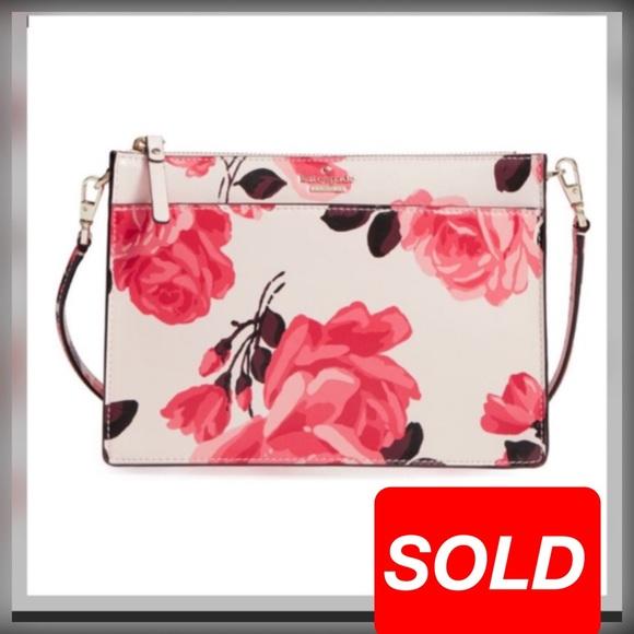 0dc938288b688 Kate Spade Crossbody Floral.