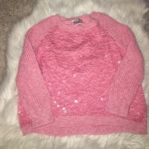 Other - ⚡️✨🌟Sale Justice girls pink sweater size 12