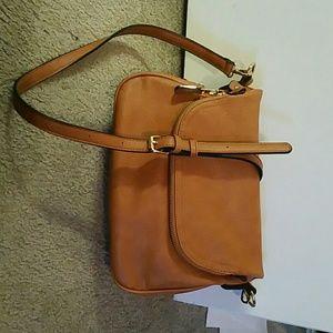 Light Brown cross body purse