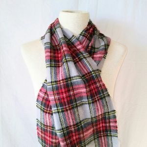 2for1 PLAID Winter Scarf