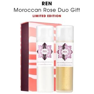 Other - REN Skincare Moroccan Rose Otto Body Wash & Lotion