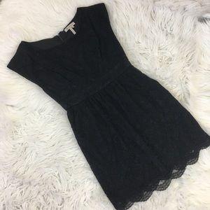 BCBGeneration Dresses & Skirts - BCBGeneration Black Lace Cocktail Dress