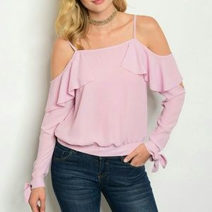 Tops - Sassy cold off the shoulder top