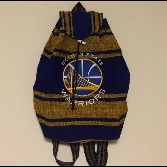 9791778b97 Golden State Warriors Handbags - NWOT Golden State Warriors Handwoven Baja  Bag